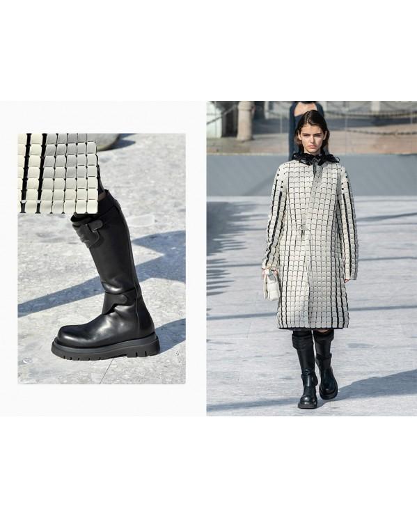 Тренд осени-зимы 2019-2020 - брутальные сапоги и ботинки