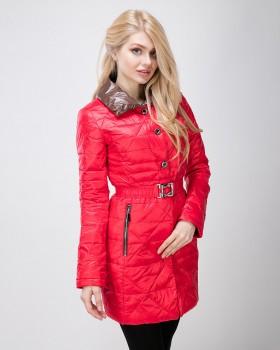 Красная демисезонная куртка на синтепоне