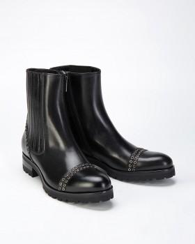 Ботинки женские черные на весну