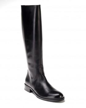 Высокие женские черные сапоги Alberto Ciccioli