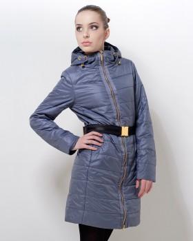 Стильное пальто на утеплителе на весну