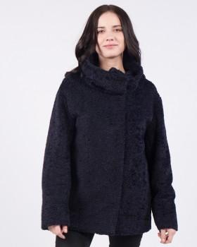 Стильное короткое пальто на весну-осень