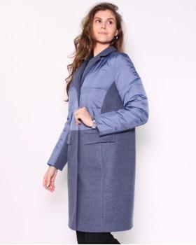 Комбинированное женское пальто ALVO