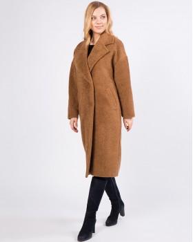 Модное плюшевое пальто ALVO