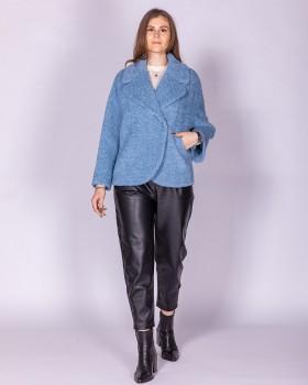 Короткое женское модное пальто