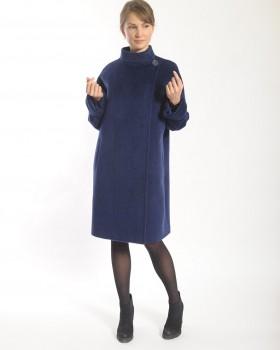 Пальто женское из альпака сури
