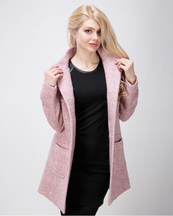 Стильное женское итальянское пальто на осень