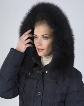 Зимняя куртка женская большого размера