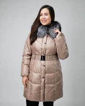 Пальто пуховик зимнее на тинсулейте