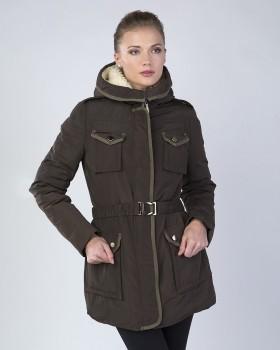 Зимняя женская куртка-парка