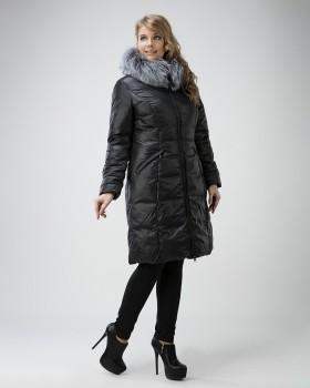 Пуховик женский зимний на большие размеры