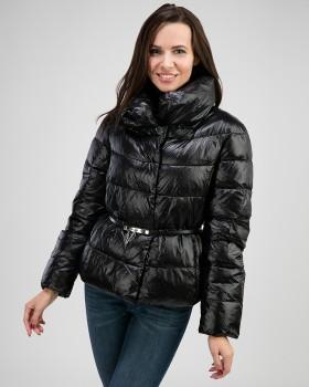 Молодежная короткая куртка пуховик