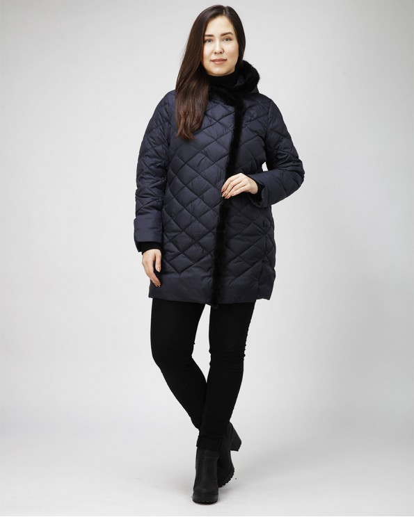 Женская зимняя куртка больших размеров