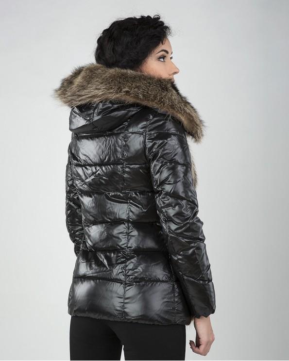 Куртка зимняя на тинсулейте с мехом спереди